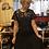 Thumbnail: 1920s Black Lace Marmande Flapper Dress