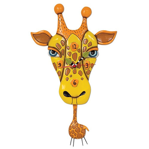Jaffy Giraffe Pendulum Wall Clock
