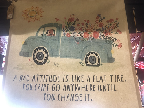 Pick Up Truck Mini Canvas Tapestry