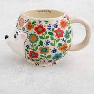 Colorful Hedgehog Mug