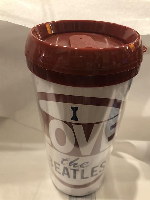 I Love The Beatles Travel Mug