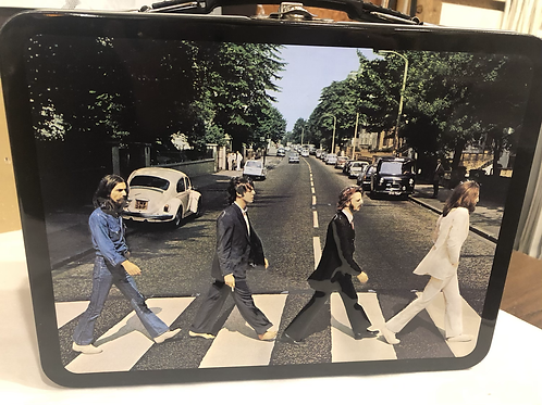 The Beatles Abbey Road Embossed Lunch Box