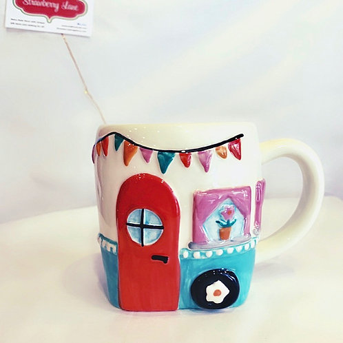 Happy Place Camper Mug