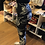 Thumbnail: Black and White Paisley Leggings     Buy 2 pair for $19.99