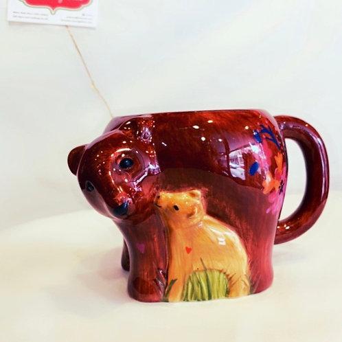 Mama Bear Folk Mug