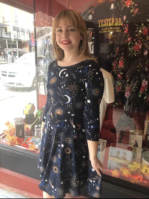 Starry Night Sky Dress