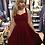 Thumbnail: Gorgeous Red Velvet Swing Dress