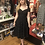 Thumbnail: 1950s Inspired Black & White Dot Swing Dress