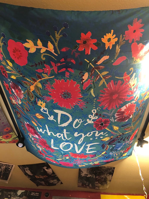 Do What You Love Tapestry