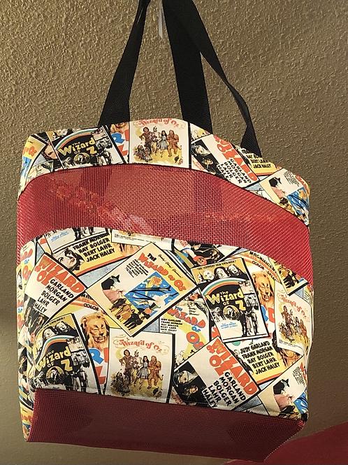 Retro Wizard Of Oz Market Bag!