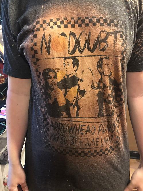 No Doubt Concert Venue Poster Tee Shirt