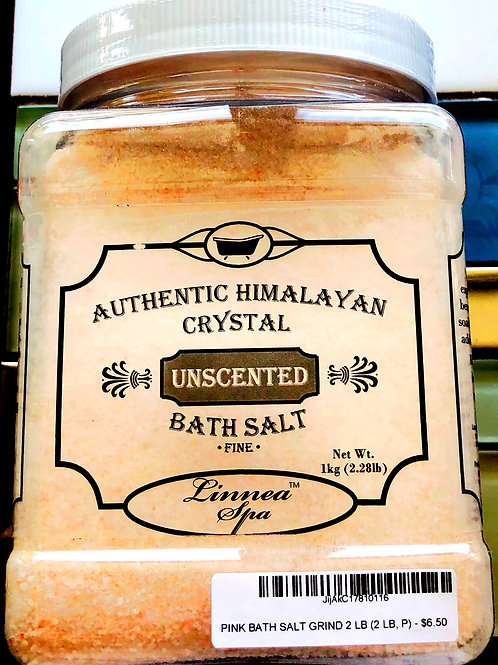 Authentic Himalayan Crystal Bath Salt Fine Grain