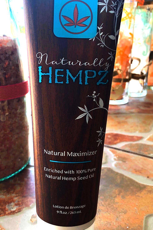 Naturally Hempz Natural Maximizer