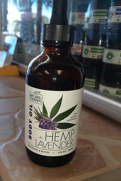 Body Oil Hemp Lavender