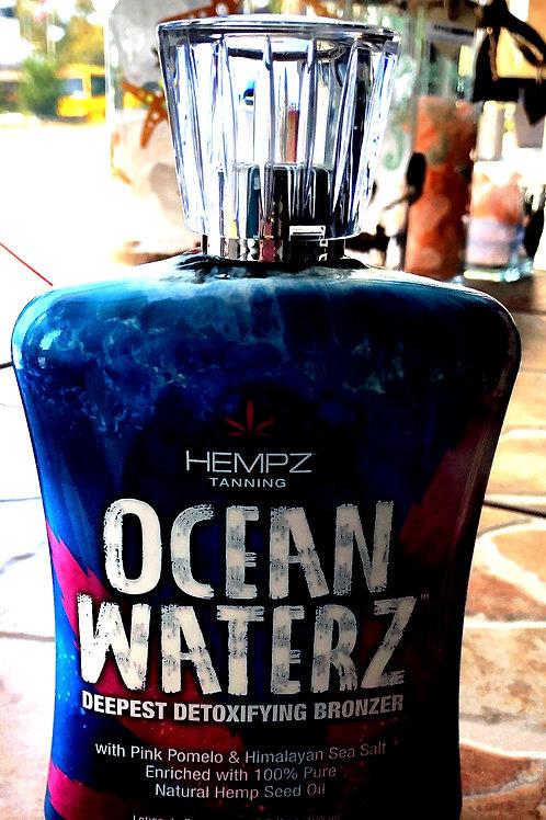 Hempz Tanning Ocean Waterz Deepest Detoxifying Bronzer
