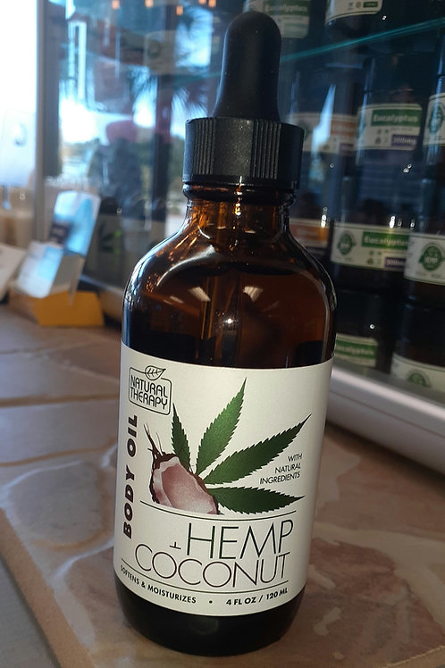 Body Oil Hemp Coconut