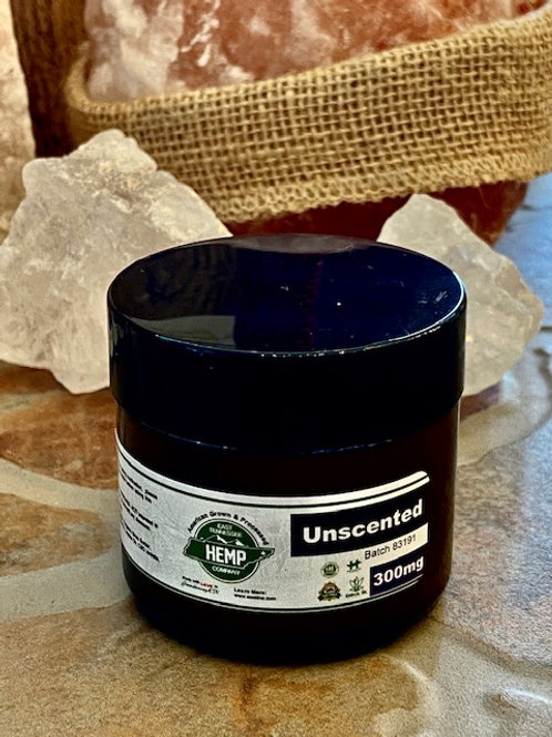 Unscented 300mg Body Butter