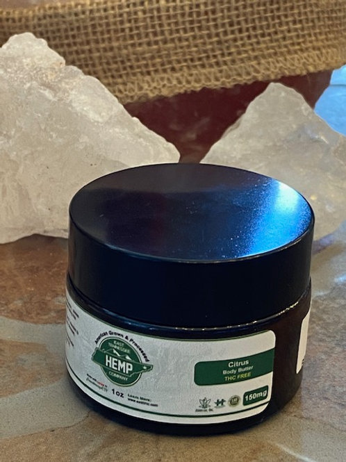 Citrus 150mg Body Butter