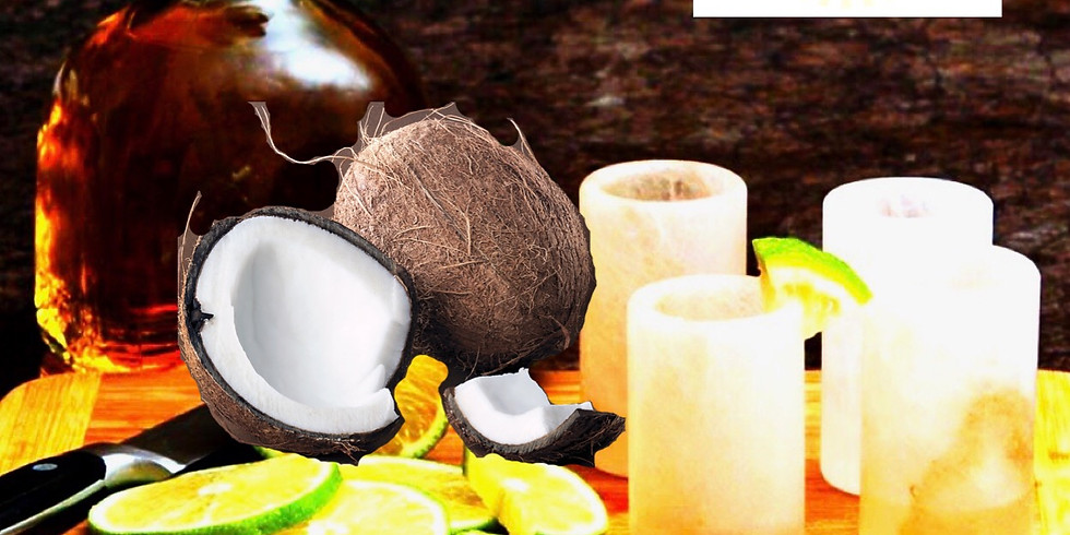 Lime & Coconut Salt Scrub Class