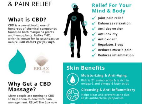 Why you should get a CBD Massage...