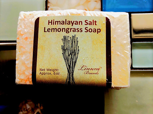 Himalayan Salt Lemongrass Soap