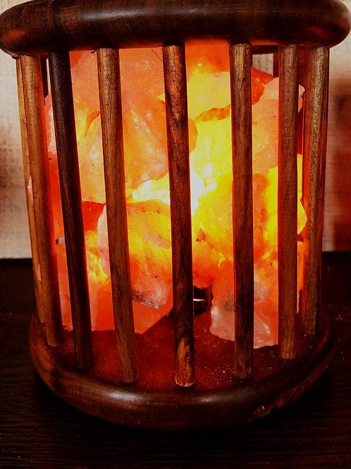 Himalyan Salt Rosewood Basket