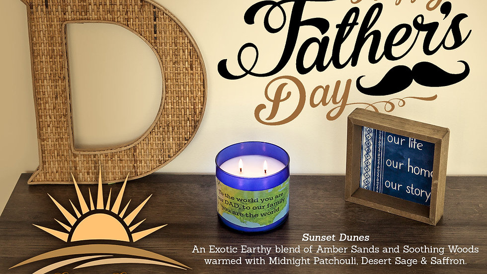 Father's Day Candle!