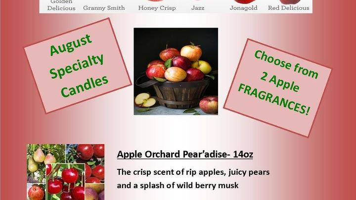 Warm Apple Crisp/Apple Orchard Pear a'dise