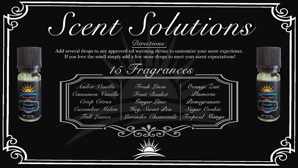 Sunset Scents Solutions
