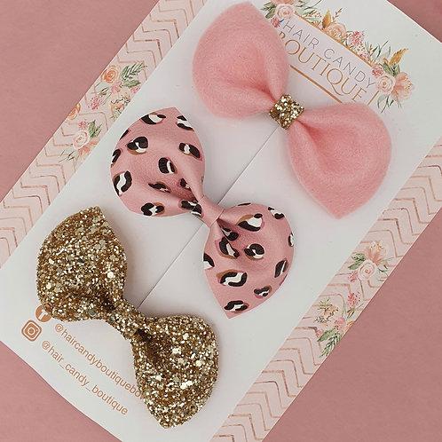 Ameila Pink Leopard Lux Set
