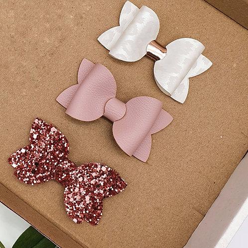 Lux Mini Beauty Bow Set