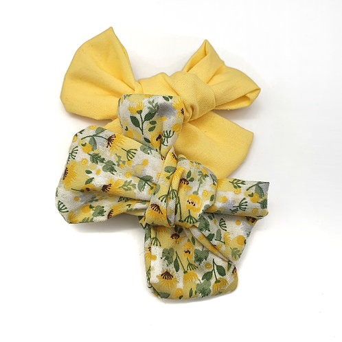 Summer Yellow Handtied Set