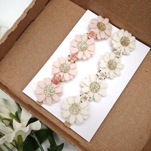 Luxury Daisy Flower Crown