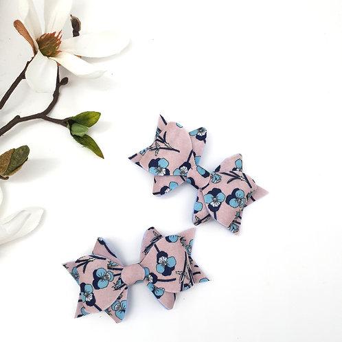 Blushing Blue Franchi Bow