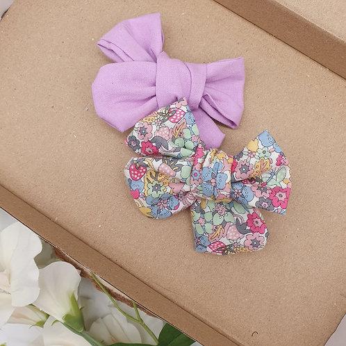 Wild Liberty & Lilac Cotton Handtied Set