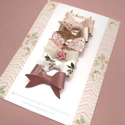 Spring Bloom Little Lovely Bow Set