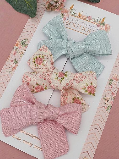 Blossoms & Linen Classic Bows