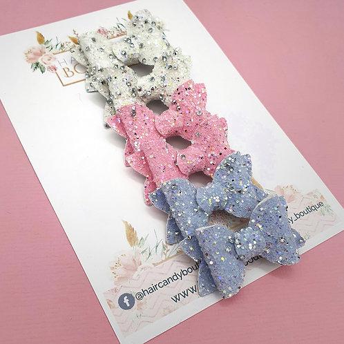 Diamond Glitter Super Ultra Mini Bows
