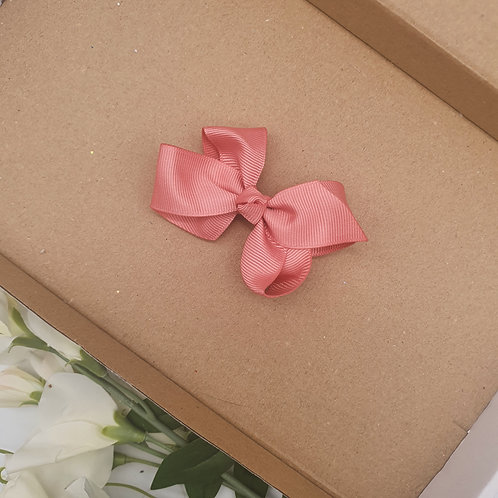Boutique Ribbon Bow Mid Pink