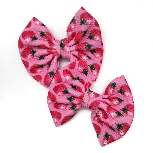 Strawberry Queen Bullet Bow