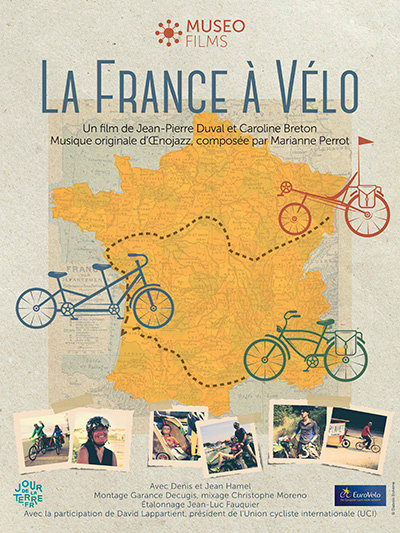Kit communication Film La France à vélo