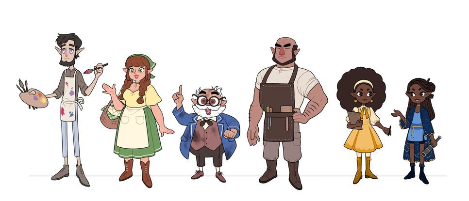 Elf Village Lineup