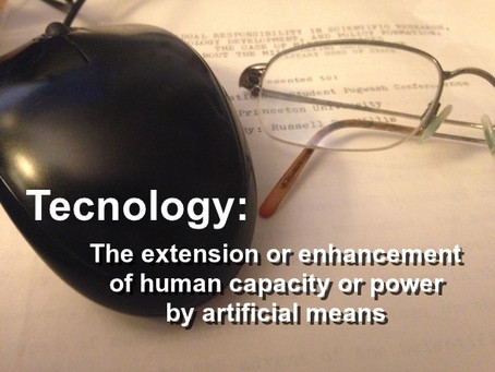 Technology Revealed as a Mode of Human Activity
