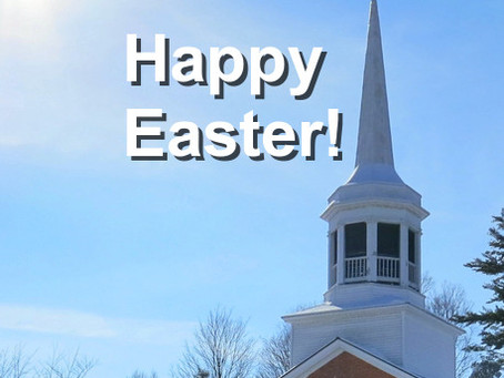 Happy Easter: Looking Forward to New Work To Do!
