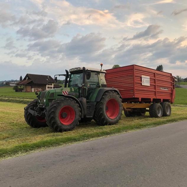 Grastransport mit Fendt 712