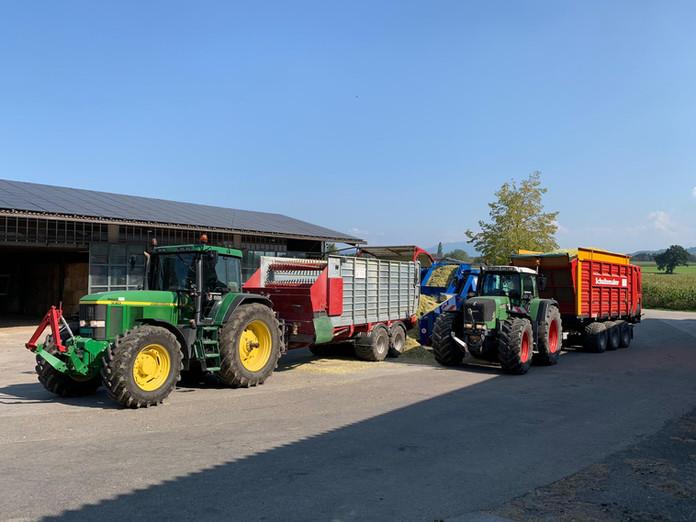 Maistransport für Fortgeschrittene
