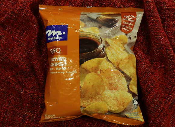 BBQ Flavour Potato Chips by Meadows