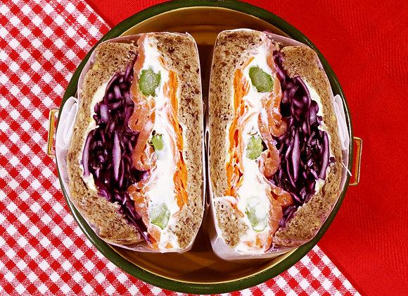 Maroyaka Smoke Salmon Sandwich