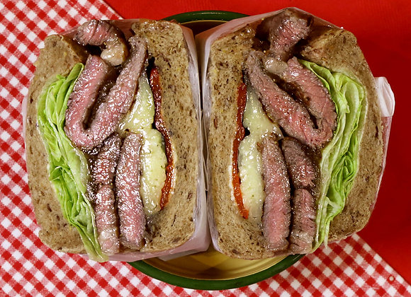 Manpuku Steak Sandwich