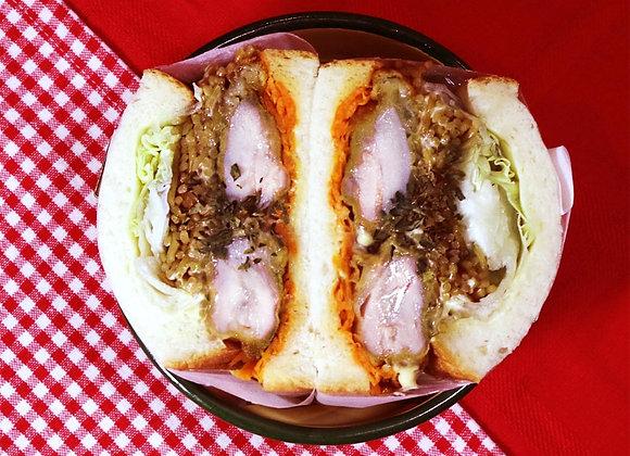 ときめきティーンエイジドリーム唐揚げサンドイッチ